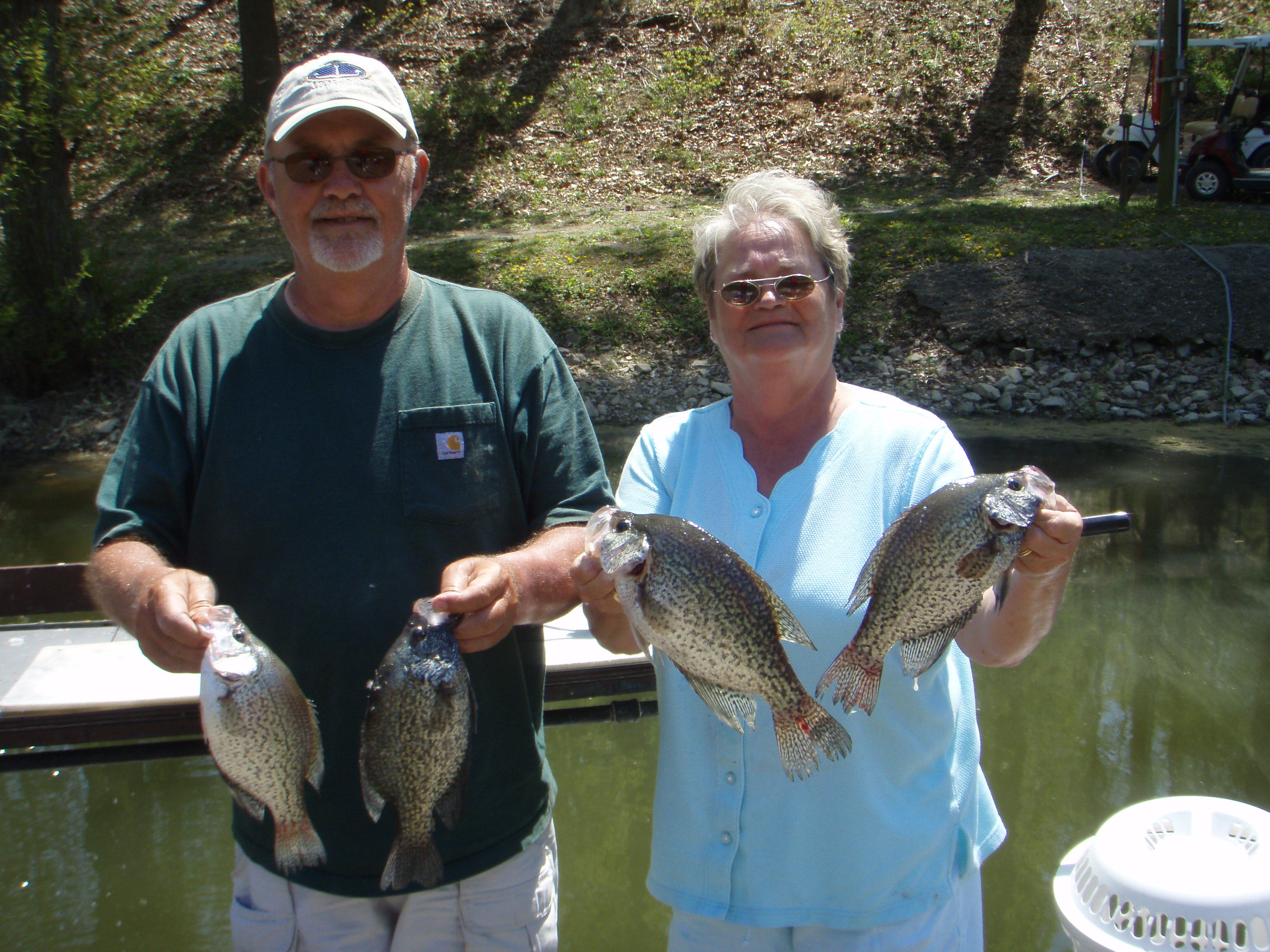 Holiday hills resort on lake barkley for Ky and barkley lake fishing report